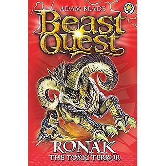 Beest Quest: 88: Ronak de giftige terreur