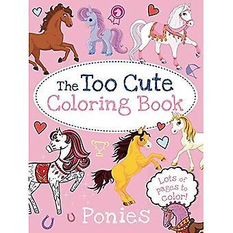 De Too Cute kleurboek: pony's