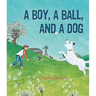 Boy, a Ball, and a Dog, A