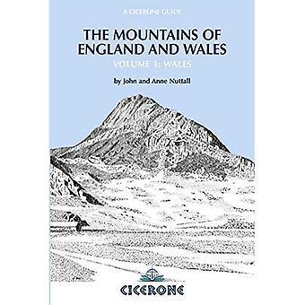 Les montagnes d'Angleterre et du pays de Galles: Wales c. 1 (Guide de Cicerone)