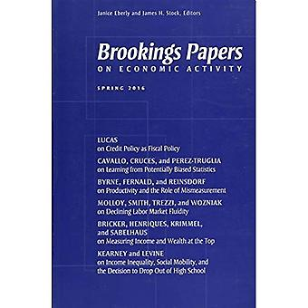 Brookings Papers on Economic Activity: Spring: 2016