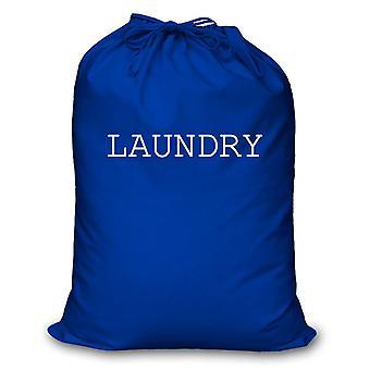 Blå vaskepose