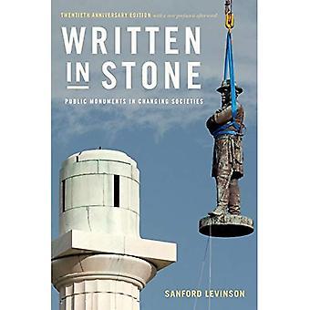 Skrevet i stein: offentlige monumenter i skiftende samfunn (offentlig Planet bøker)