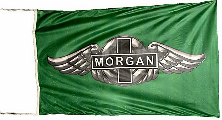 Large Morgan cars flag 1500mm x 900mm (of)