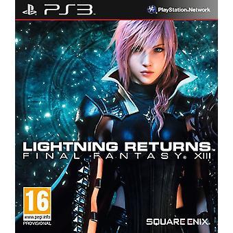 Lightning Returns Final Fantasy XIII (PS3) - Factory Sealed