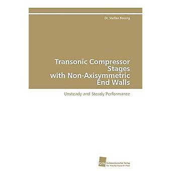 Transonic Compressor Stages with NonAxisymmetric End Walls by Reising Dr. Steffen