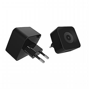 Transformador USB 1A (sin cable) Negro Muvit