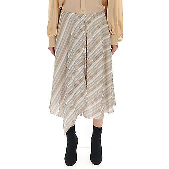 Acne Studios Beige Cotton Skirt