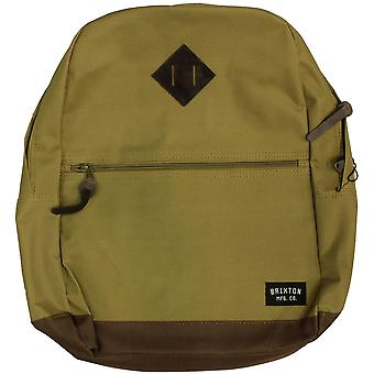 Brixton Ltd Carson Backpack Bag Khaki Brown
