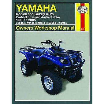 Yamaha Kodiak and Grizzly ATVs - 2-wheel Drive and 4-wheel Drive 1993