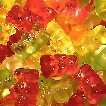 2 Bags of 180g Bag of Fruit Flavoured Jelly Teddy Bears Gummies