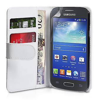 YouSave Samsung Galaxy Ace 3 LeatherEffect Wallet Case wit