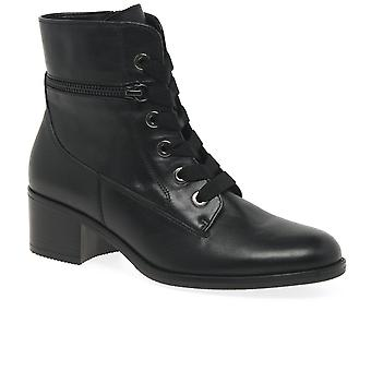 Gabor Iria Womens Military Style Boots