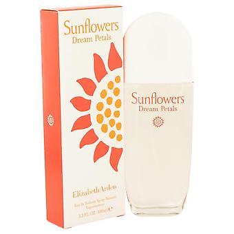 Sunflowers Dream Petals Eau De Toilette Spray By Elizabeth Arden