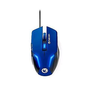 Nacon pcgm-105blu mouse gioco ottico usb 2400 dpi led blu