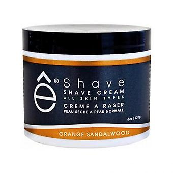 Shave Cream Cr me Shave Orange and Santal Wood