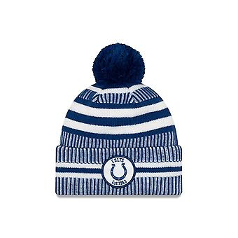 New Era Nfl Indianapolis Colts 2019 Sideline Home Sport Knit