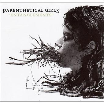 Parenthetical Girls - Entanglements [CD] USA import