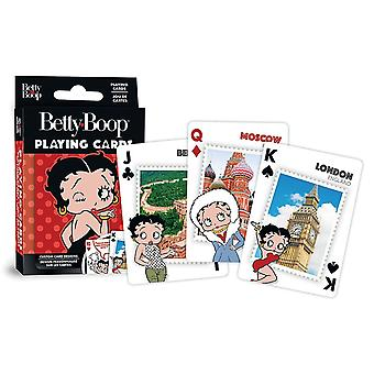 Betty Boop set of 52 playing cards + jokers  (mpc)