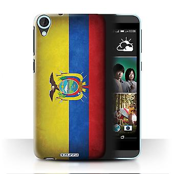 STUFF4 Case/Cover for HTC Desire 820s Dual/Ecuador/Ecuadorian/Flags