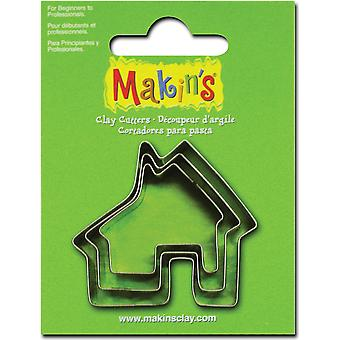 Makin's Clay Cutters 3 Pkg House M360 23