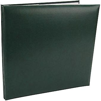 Simili cuir Postbound Scrapbook Album 12 « X 12 » Green Mb10 60099