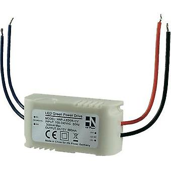 AC/DC PSU (print) HN Power HNP-LED08-CV 12 Vdc 660 mA 8 W