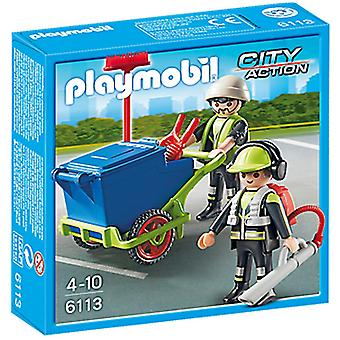 Playmobil 6113 The Cleaning Crew