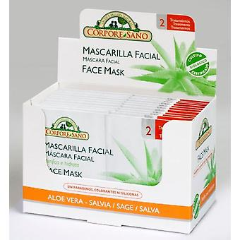 Corpore Sano Bio Facial Mask 24 Envelopes Bidosis