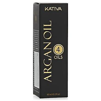 Kativa 4 Oils Argan Oil 60 Ml.