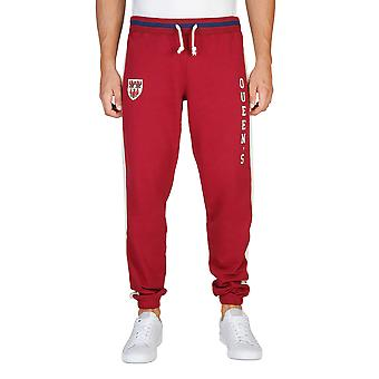 Oxford University Trainingsanzug Hose Männer rot
