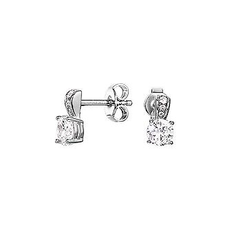 ESPRIT women's earrings cubic zirconia Solitaire Glam ESER92742A000