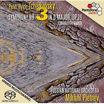 P.I. Tchaikovsky - Tjajkovskij: Symfoni No. 3; Kroning marts [SACD] USA import