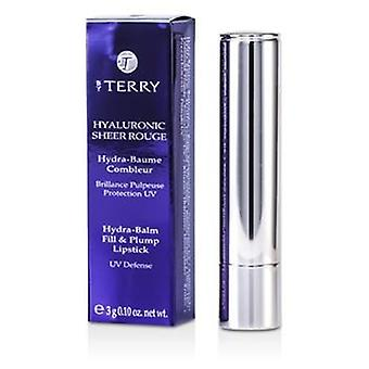 By Terry Hyaluronic Sheer Rouge Hydra Balm Fill & Plump Lipstick (UV Defense) - # 8 Hot Spot - 3g/0.1oz