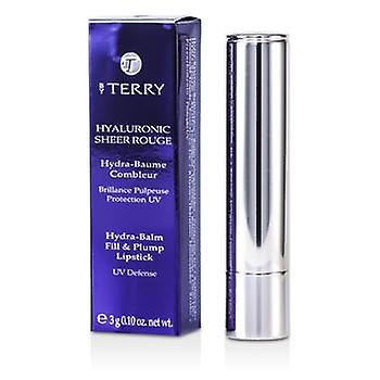 Von Terry Hyaluronic Sheer Rouge Hydra Balm Fill & prall Lippenstift (UV Defense) - # 8 Hot-Spot - 3g / 0,1 oz