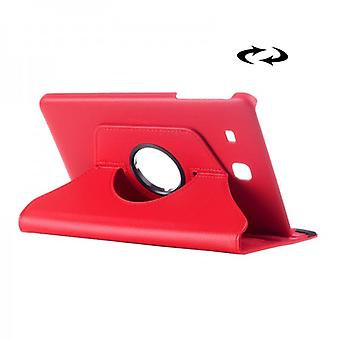 Cover 360 degrees red case for Samsung Galaxy tab E 9.6 SM T560 T561
