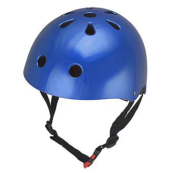 Kiddimoto Helm - Metallic-Blau