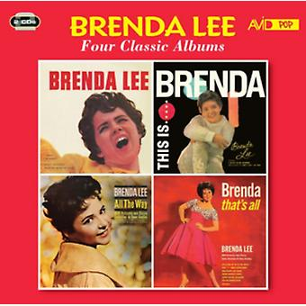 Four Classic Albums (Brenda Lee (Miss Dynamite) / This Is Brenda / All The Way / Brenda That's All) by Brenda Lee