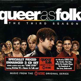 Forskellige kunstnere - Queer som Folk 3 [CD] USA import
