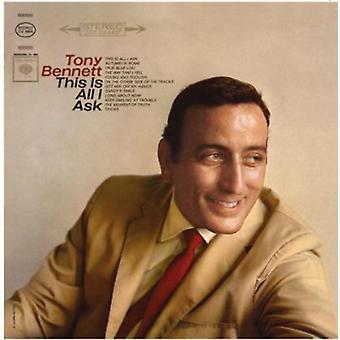 Tony Bennett - här är alla jag [CD] USA importerar