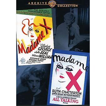 Madame X (Double Feature) [DVD] USA import
