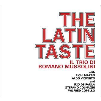Romano Mussolini - Latin smag [CD] USA import