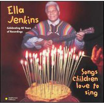 Ella Jenkins - Songs Children Love to Sing [CD] USA import