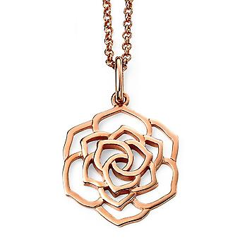 925 Silver Rose Gold Plated Necklace