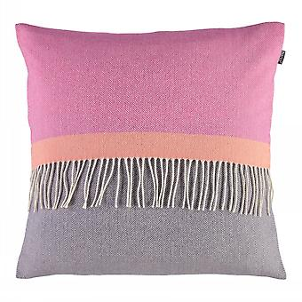 Twig Eloise Grape Luxury 100% Lambswool Square Cushion