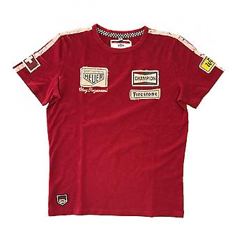 Warson Motors Clay Regazzoni T-Shirt Red
