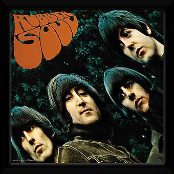 Die Beatles Rubber SoulFramed Album Print