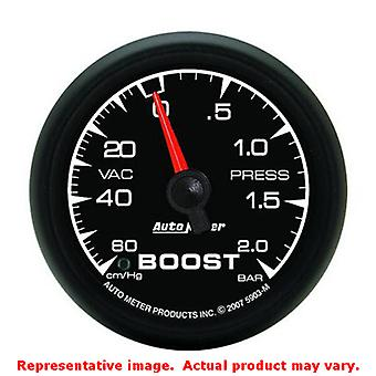 Auto Meter ES Gauge 5903-M 2-1/16 in bereik: 60 cm/Hg-2 Bar past: UNIVERSAL 0 - 0