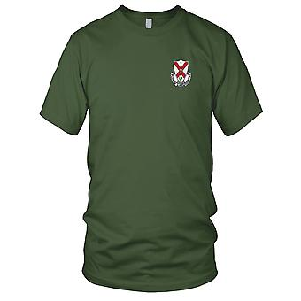 US Army - 124th Infantry Regiment Embroidered Patch - Kids T Shirt