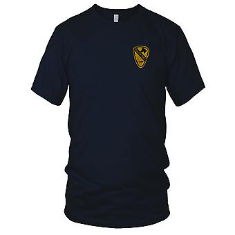 US Army Infantry 1st Cavalry RASH-FAC Forward Air Hand Sewn Vietnam War Embroidered Patch - Mens T Shirt